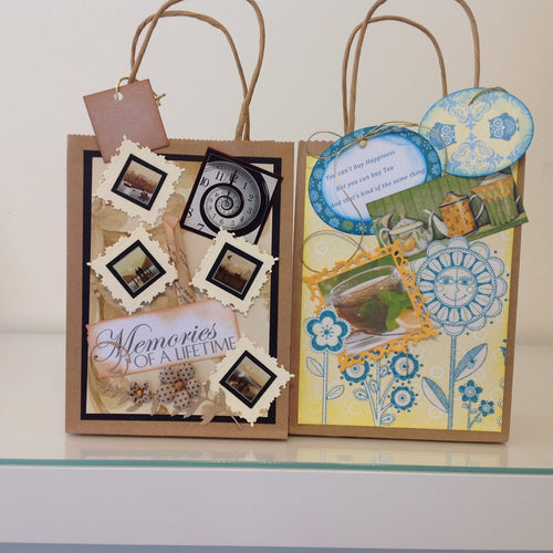 Embellished Gift Bags - custom made - Atelier Crafers