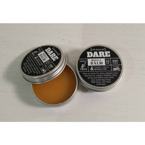 DARE Feisty Chilli & Magnesium Muscle Balm 55gm - Truth Cosmetics - Atelier Crafers