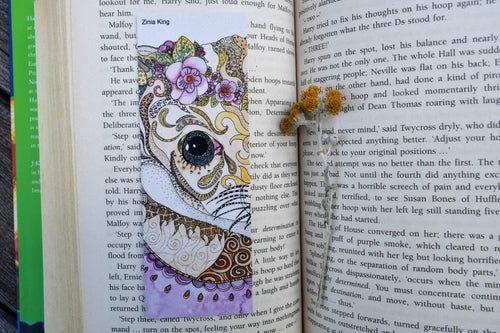 'Mulgara' Bookmark-Stationery-Atelier Crafers