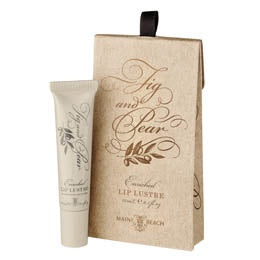 Certified Organic Olive Oil with Fig and Pear Lip Lustre
