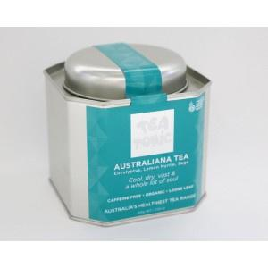 Australiana Tea Caddy Tin-Homewares-Atelier Crafers