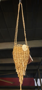 Conical Hanging Basket by Laima Guscia-Homewares-Atelier Crafers