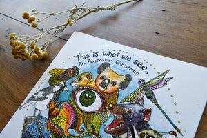 This is What We See - Australian 12 Days of Christmas Book - Zinia King-Children-Atelier Crafers