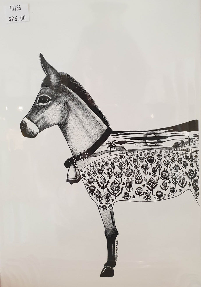 A4 print - Cropped Donkey-Homewares-Atelier Crafers