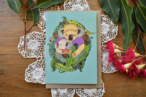 Greeting Card - Koala Love - Zinia King-Homewares-Atelier Crafers