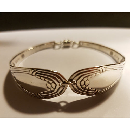 Danish 1917 silverspoon bracelet-Jewellery-Atelier Crafers