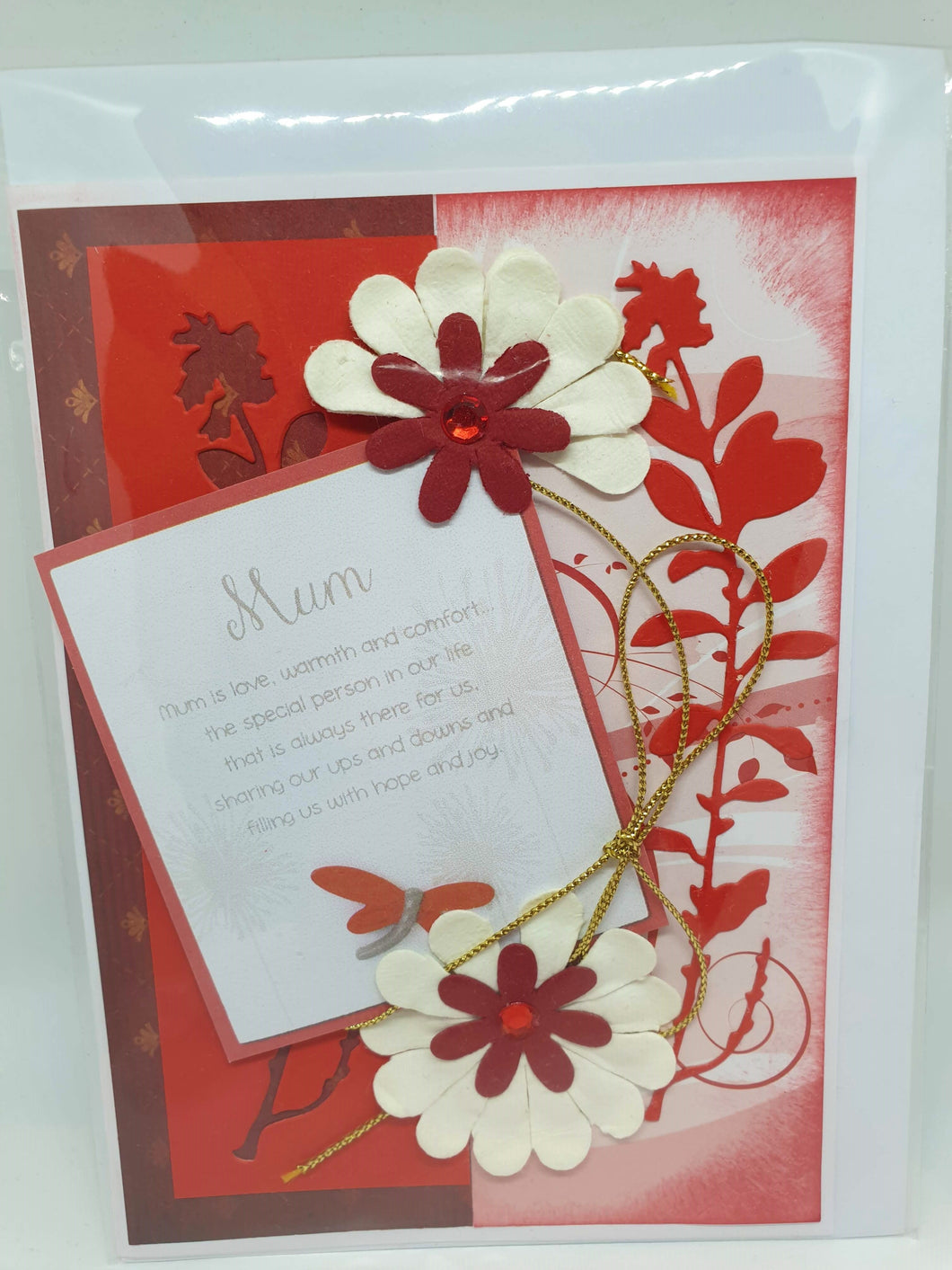 Handmade Mother's Day Cards - Mum is a special person-Homewares-Atelier Crafers