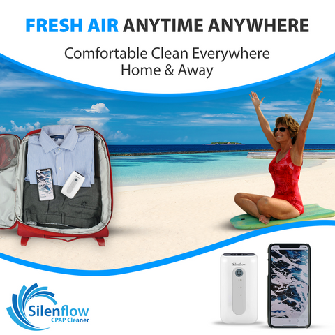 SilenFlow Cpap Cleaner Machine and Sanitizer (Free Shipping)