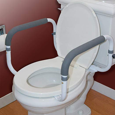 How to Improve Bathroom Safety: Toilet Support Rails
