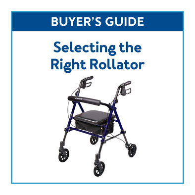 Buyer's Guide: Selecting the Right Rollator