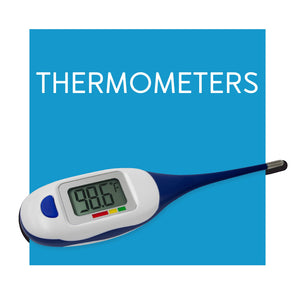 Baby Digital and Temporal Thermometers