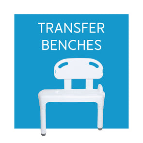 Bathtub and Shower Transfer Benches - Carex Health Brands