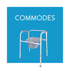 Bedside and Bathroom Commodes and Commode Liners - Carex Health Brands