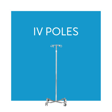 In-Home Portable IV Poles - Carex Health Brands