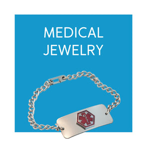 Medical Jewelry Necklaces and Bracelets - Carex Health Brands