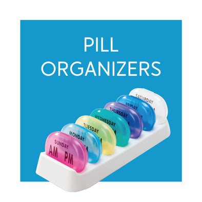 Medicine Pill Organizers - Carex Health Brands