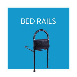 Removeable Bed Support Rails - Carex Health Brands