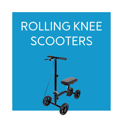 Rolling Knee Walker Scooters - Carex Health Brands