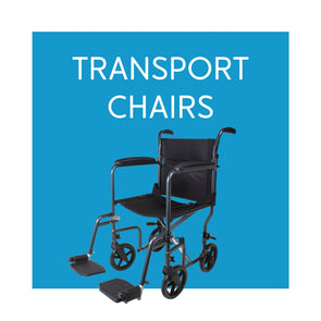 Transport, Transfer, and Companion Chairs - Carex Health Brands