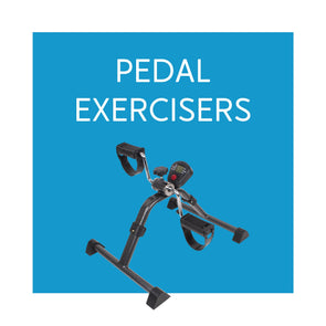 Under Desk Stationary Pedal Exercisers - Carex Health Brands