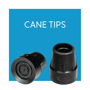 Walking Cane Tips - Carex Health Brands