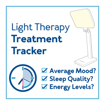 Light therapy treatment tracker