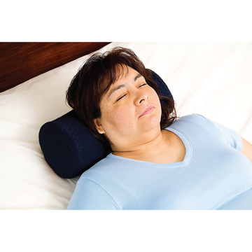 Cervical roll pillow for back pain and neck support