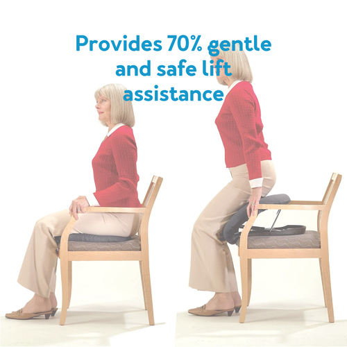 Provides 70% gentle and safe lift assistance