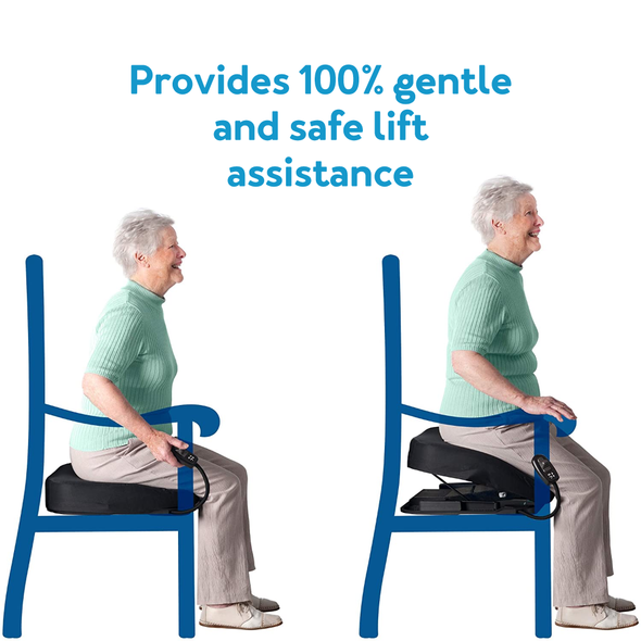 Provides 100% gentle and safe lift assistance