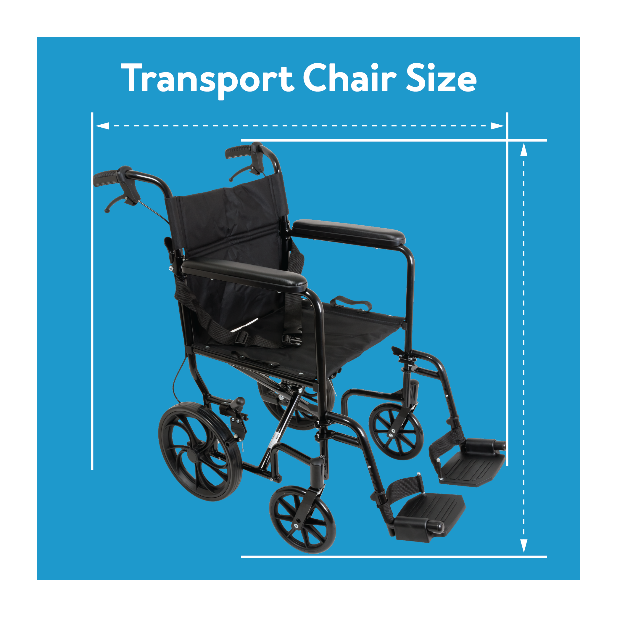 Transport Chair Size