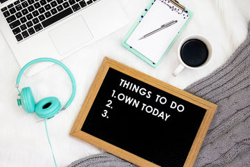 Stay organized with important tasks so your winter blues don't take over
