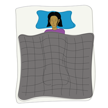Sleep tips: Weighted blankets promote relaxation and better sleep