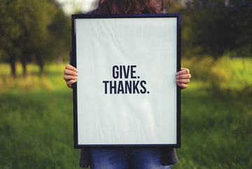 Showing gratitude makes you happier, more content, and less stressed. All key aspects of beating the winter blues.