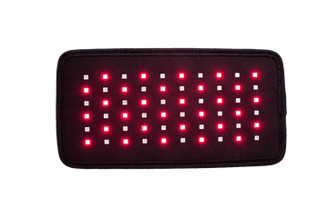 Red light therapy device for back pain