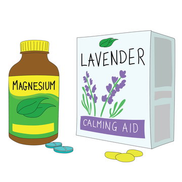 Sleep tip: Sleep supplements such as lavender and magnesium can help with sleep