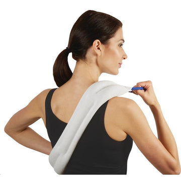 Hot and cold therapy device for back pain