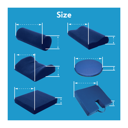 Support cushion size