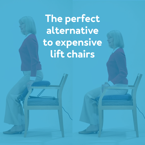 The perfect alternative to expensive lift chairs