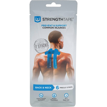 Kinesiology tape for back pain relief