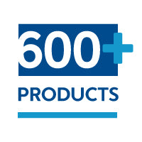 Our collection of over 600 products means you get better pricing, specials, and price breaks when bundling.