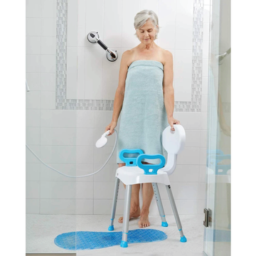 Shower chairs for elderly persons
