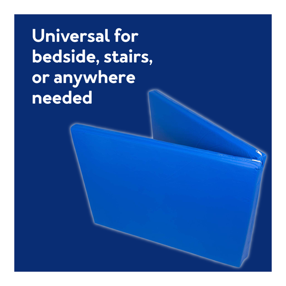 Universal for bedside, stairs, or anywhere needed