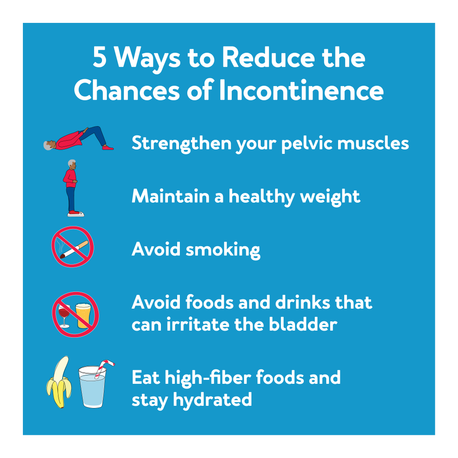 5 Ways to Reduce the Chances of Incontinence