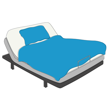 Sleep tip: Invest in a good quality mattress, pillows, and sheets.