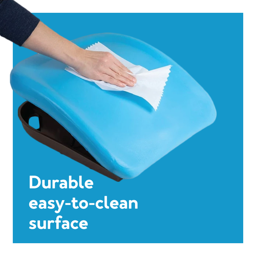 Durable, easy to clean surface
