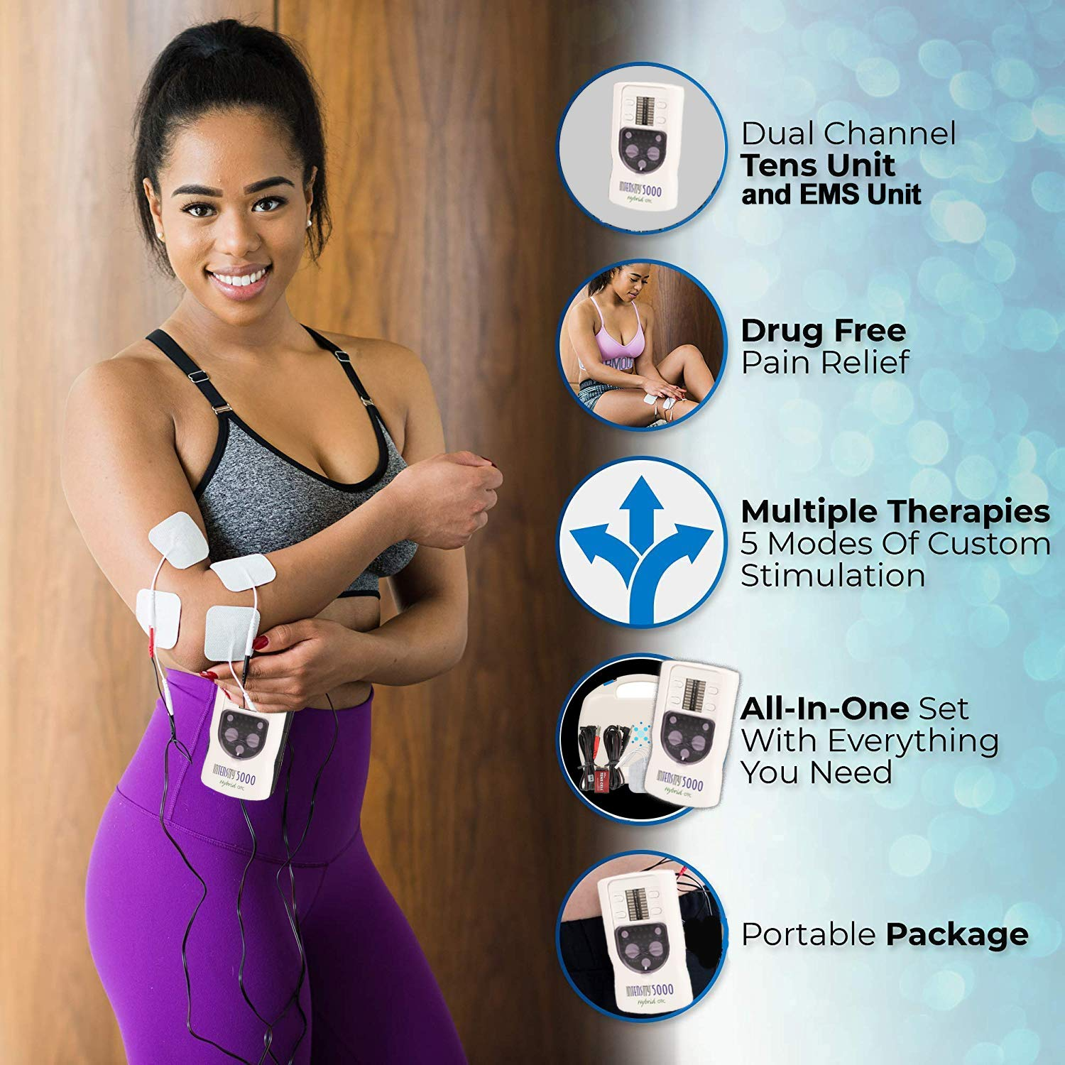 TENS therapy pain relief