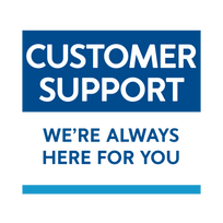 Customer support: We're always here for you