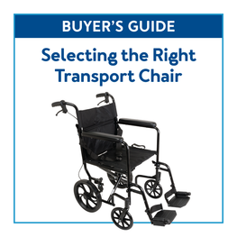 Buyer's Guide: Selecting the Right Transport Chair