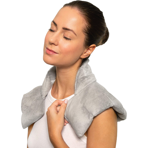 Microwave heating pad for pain relief