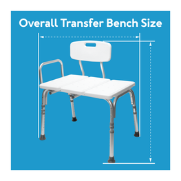 Overall Transfer Bench Size